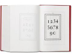 Bodoni type specimen #type #specimen #typography