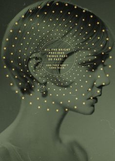 The Great Gatsby #poster #movie #circle #stars #sentence