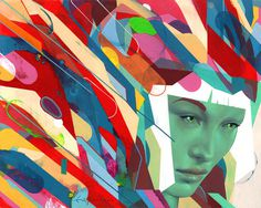 Abstract Illustrations by Erik Jones