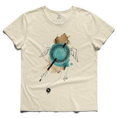 #neyz #beige #tee #tshirt #flute #melodie #watercolor #sufism #sphere #god #creativity