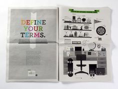 Print Revolution Â« The Boomerang Table : The Blog of 160over90 #newsprint #illustration #design
