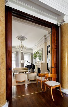 Greenwich Village Greek Revival Townhouse / SheltonMindel