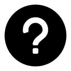 See more icon inspiration related to question, help, faq, question mark, button, speech bubble and signs on Flaticon.