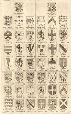 Shields #heraldry #shields