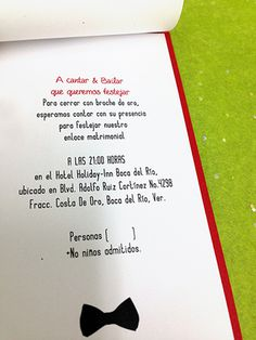 Wedding Invitation /Invitación de Boda #groom #invitation #impreso #print #novia #bride #invitacin #novio #wedding