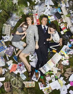 7 Days of Garbage by Gregg Segal #inspiration #creative #photography