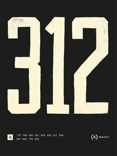 FFFFOUND! #numbers #lettering