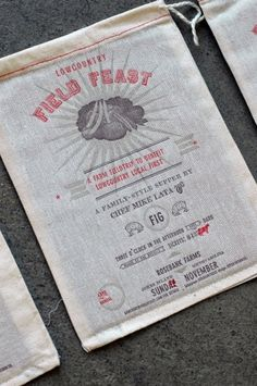 FeildFeast3.jpg 1000×1504 pixels #packaging #type #design