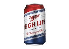 Miller High Life Veterans Can #packaging #beer #americana #can