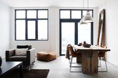 KariusBaktus #interior #white #home #wood #leather