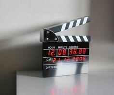 Directors Edition Digital Alarm Clock #clock #gadget #home #alarm