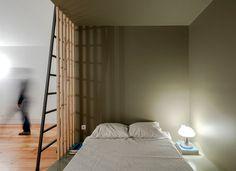 URBAstudios Turn Single Room Urban Dwelling into a House - InteriorZine