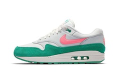 Nike Air Max 1 Watermelon release info Pure Platinum sunset pulse kinetic green summit white