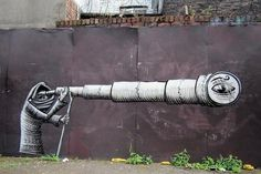 Artist Phlegm amazing art #abstract #surrealism #art #street #surreal