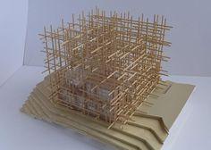CJWHO ™ (sou fujimoto: geometric forest for solo houses) #design #landscape #photography #architecture #art