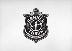 Nike Olympic Hammer Throw CommonerInc #logo #badge