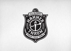 Nike Olympic Hammer Throw CommonerInc #logo #badge