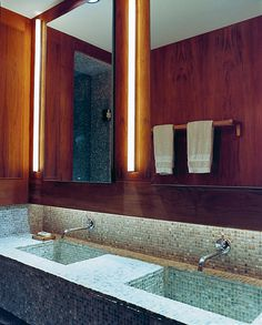 CJWHO ™ (A+I | Zimzor Residence Pretty Super Bathroom) #design #interiors #bathroom #wood #photography #luxury