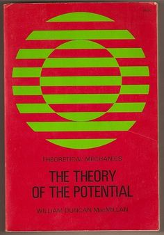 » The Theory of the Potential by William Duncan MacMillan Flickrgraphics #design #graphic #book #cover #typography