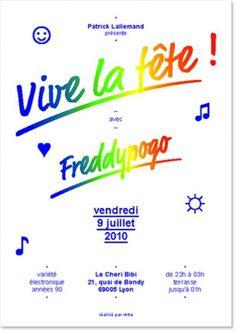 Alles Gut » Vive la fête ! #trend #poster