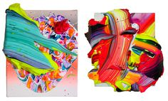 Yago Hortal creates vibrant paintings that come off the canvas #painting #art