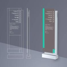 Signage | Sign Design | Wayfinding | Wayfinding signage | Signage design | Wayfinding Design | 写字楼导视设计