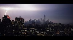 April thunderstorms Apocalypse #samytry #cinematic #lightning #photography #storm #york #new