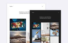 Hamilton - Minimalist Portfolio Wordpress Theme - Free Download