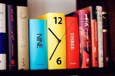 Enjoying This #letters #installation #books #art #clock #typography
