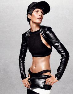 Valerija Kelava By Jason Kibbler For Vogue Russia March 2013 #fashion #model #photography #girl