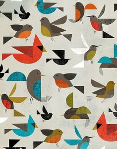 Birds | Dante Terzigni Illustration #illustration #dante terzigni #birds