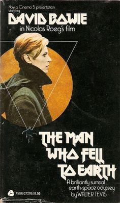 All sizes | The Man Who Fell To Earth (1963, 1976) | Flickr - Photo Sharing! #sci #fi #illustration #poster #film #david #bowie #typography