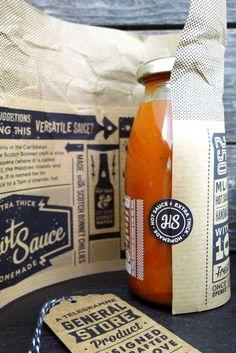 Telegramme_HawtSauce_03 #packaging #hawt sauce