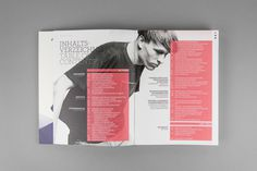 UNI:VERSE 2012 #layout #brochure