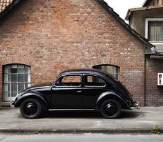 Tumblr #brick #black #simple #beetle #vintage #street #vw
