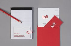 Loft Investments on the Behance Network #loft #stationary #lindqvist #lundgren #investments