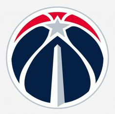 Wizards go Retro, Dodge Bullet - Brand New #white #red #washington #logo #sports #star #blue #basketball