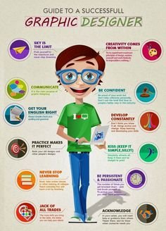 Guide To A Successful Graphic Designer – Infographic #inspiration #infographic #graphic #designer