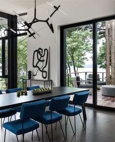 DeForest Architects, dining room
