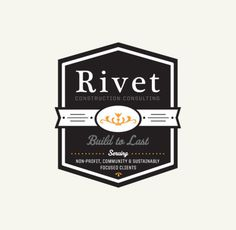 Rivet Branding By Rev Pop #logo #brand #badge #milwaukee #rivet #rev pop #scott starr
