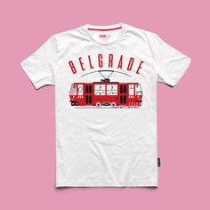 "Bratislav Milenkovic on Instagram: ""New @bracaburazeri T-shirt is available! This time for their #Belgrade series we did the Tram no 2 - a symbol of Belgrade city center.…"""