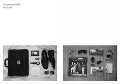 Unrape Magazine - Photoshoot 1 #itens #neatly #photography #layout #organized #magazine