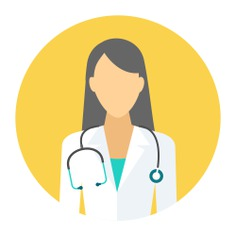 See more icon inspiration related to doctor, woman, job, surgeon, avatar, medical, health care, people, occupation, profession and healthcare and medical on Flaticon.