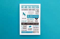 Jez Burrows / Projects / We Are The Friction #print #design #editorial #poster