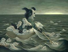 An Interview with Heather Watts #watt #pop #surrealism #painting #art #heather