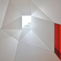 Skyhouse penthouse with white luxury interior #interior #artistic #penthouse #apartment #fun