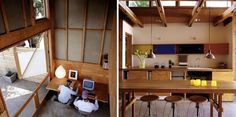 10 Favorite Converted Garages, Garages Turned Into Living and Work Space | Gardenista #interior #design #decor #deco #decoration