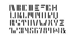 NEOLUX Font Poster