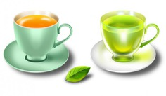 Glossy mint tea cups and saucers in psd Free Psd. See more inspiration related to Tea, Psd, Tea cup, Mint, Files, Glossy, Horizontal, Cups and Saucers on Freepik.