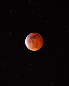 Caught the Blood Moon